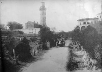 Le Phare d'Alistro au début du siècle