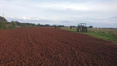 Le champs labouré