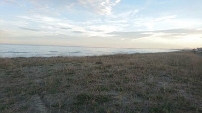 la dune et la mer